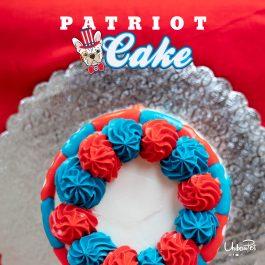 PATRIOT CAKE ORDER
